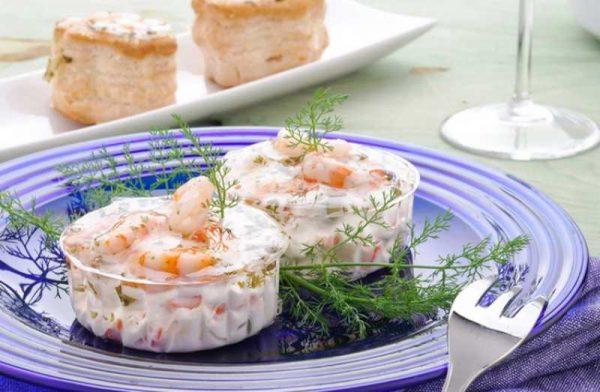 Готовим соус с креветками