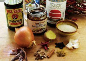 Ингредиенты для соуса ворчестер