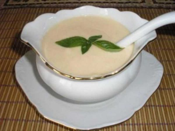 Приготовление белого соуса