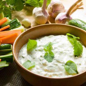 Цацики греческий соус
