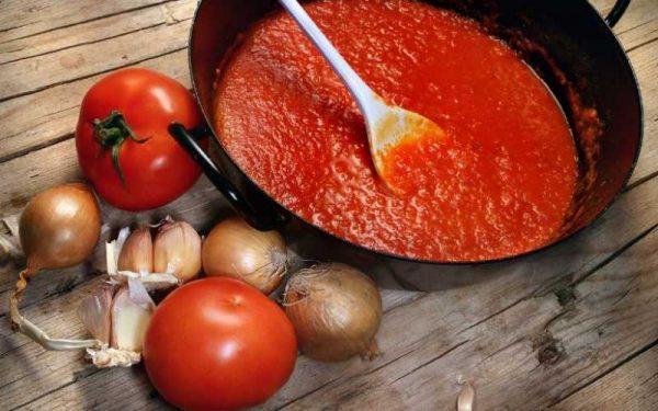 Острый красный соус