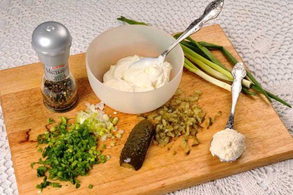 Готовим огуречный соус