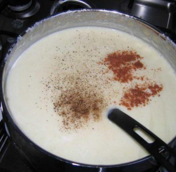 Приготовления соуса к рыбе