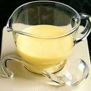 Яичный соус с вином пошагово