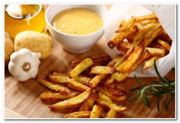 Картофель фри в домашних условиях - пошаговый рецепт с 77