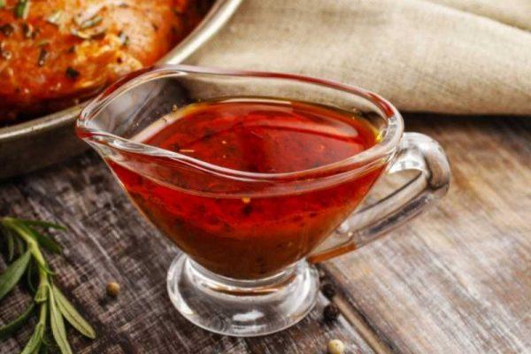 Горчично-медовый соус