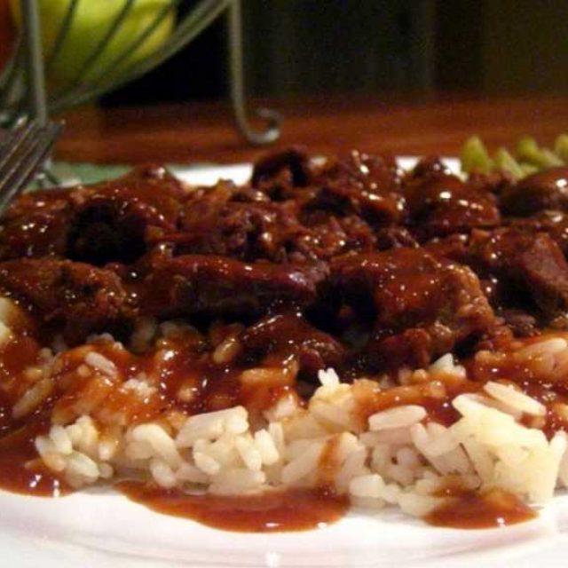 Готовим мясную подливу к рису
