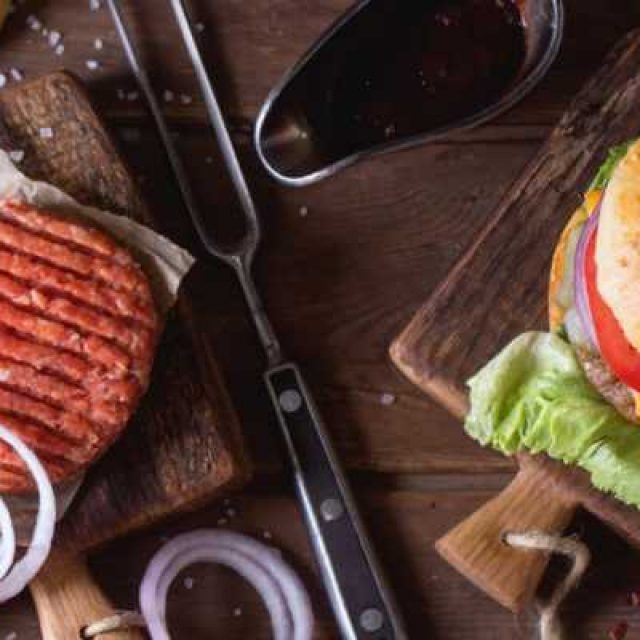 Готовим соус для гамбургера