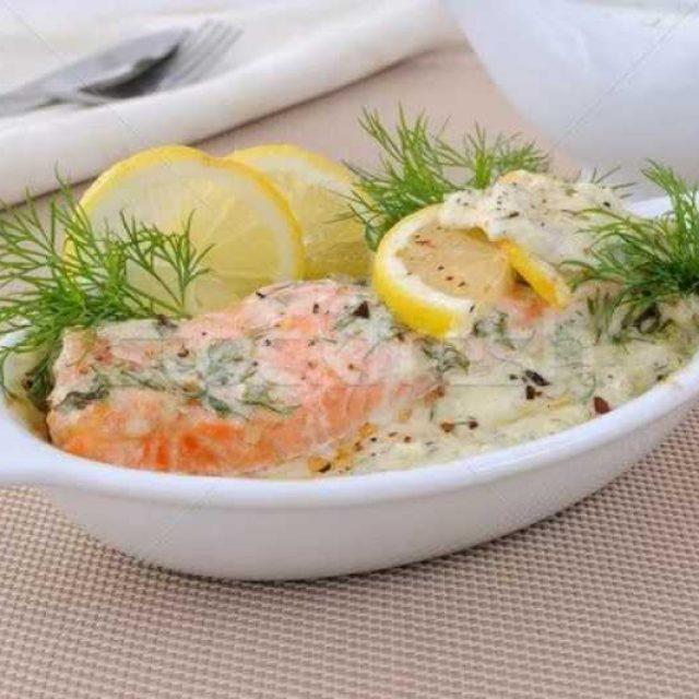 Соус к рыбе и рису пошагово