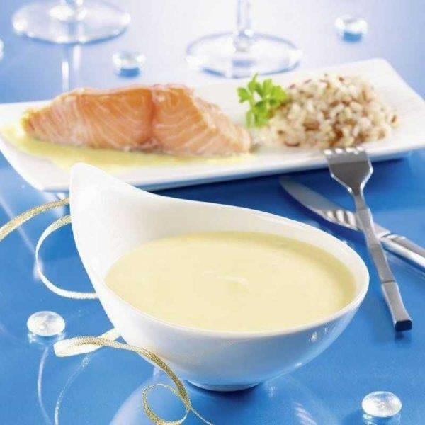 Соус молочный к рыбе