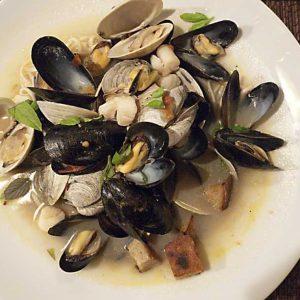 Соус папи с морепродуктами