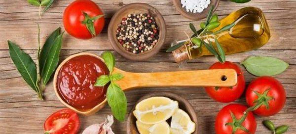 Ингредиенты для соуса маринара