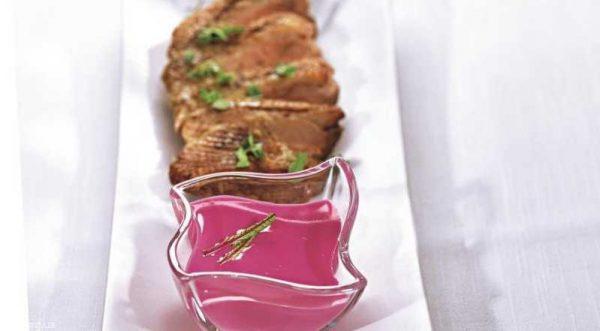 Свекольный соус к мясу