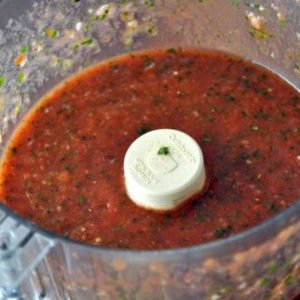 Этапы приготовления соуса чили