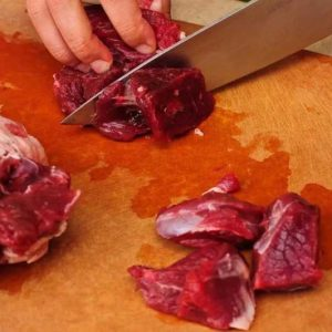 Этапы приготовления соуса для баранины