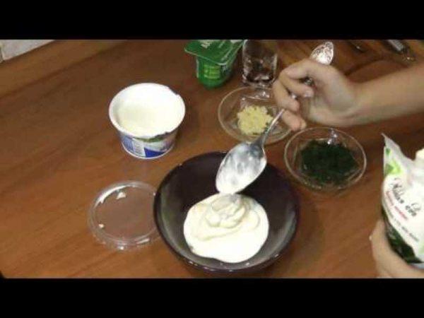 Приготовление чесночного соуса