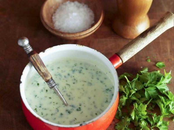 Готовим белый соус