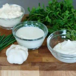 Ингредиенты соуса для соуса
