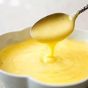 Яично-масляный соус готовим