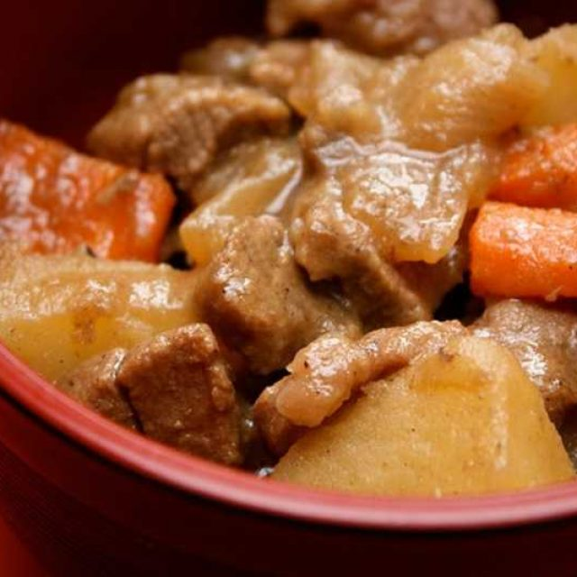 Картофельный соус с мясом варианты