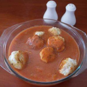 Компаньон для соуса с томатной пастой