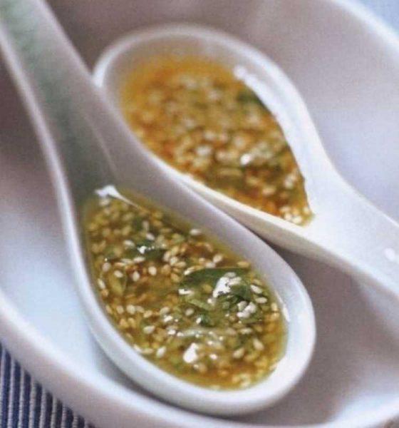 Масло с кунжутом для салата