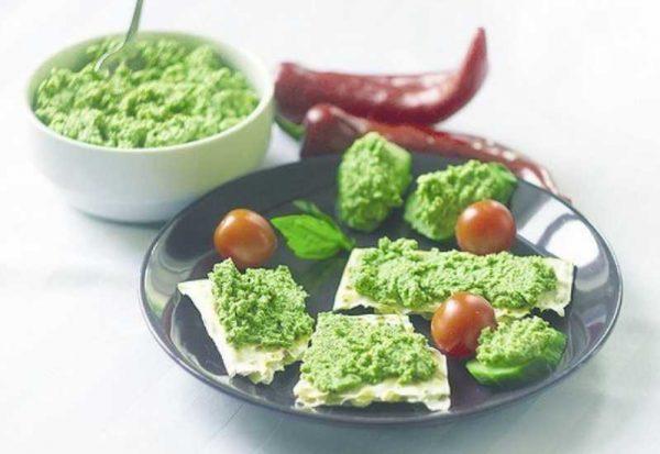 Вкусный соус из брокколи