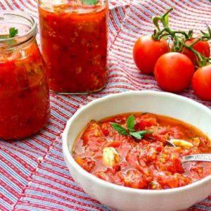 Соус из свежих помидоров пошагово