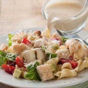 Готовим соус к салату Цезарь