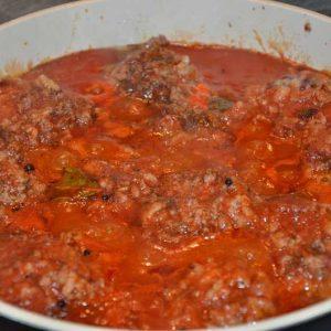 Подлива из томатов для тефтелей