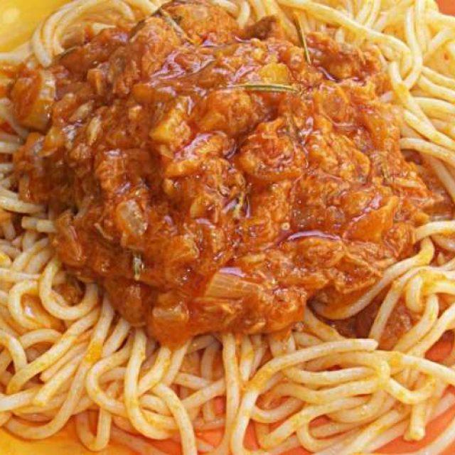 Готовим соус без мяса для макарон
