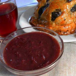 Соус с вином к блюду из курицы